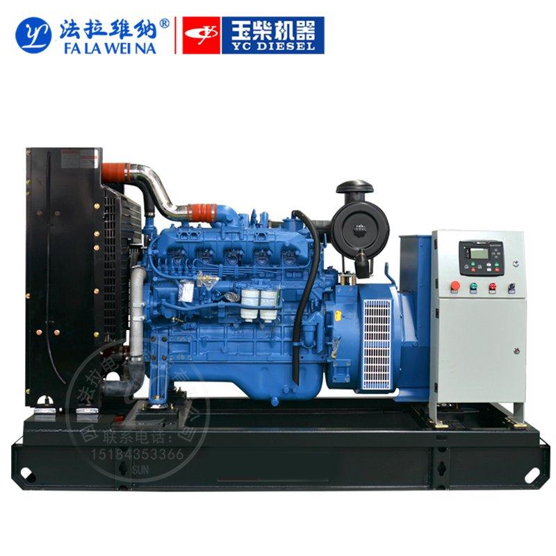 150KW廣西玉柴YC6A245-D30柴油發電機組