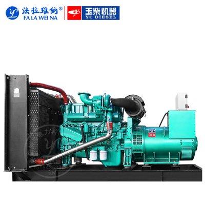 120KW廣西玉柴YC6A205-D30柴油發電機組