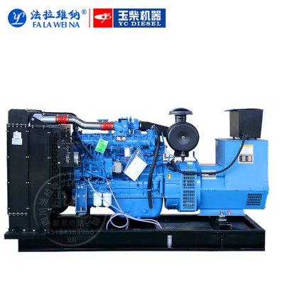 100KW廣西玉柴YC4D155-D30柴油發電機組