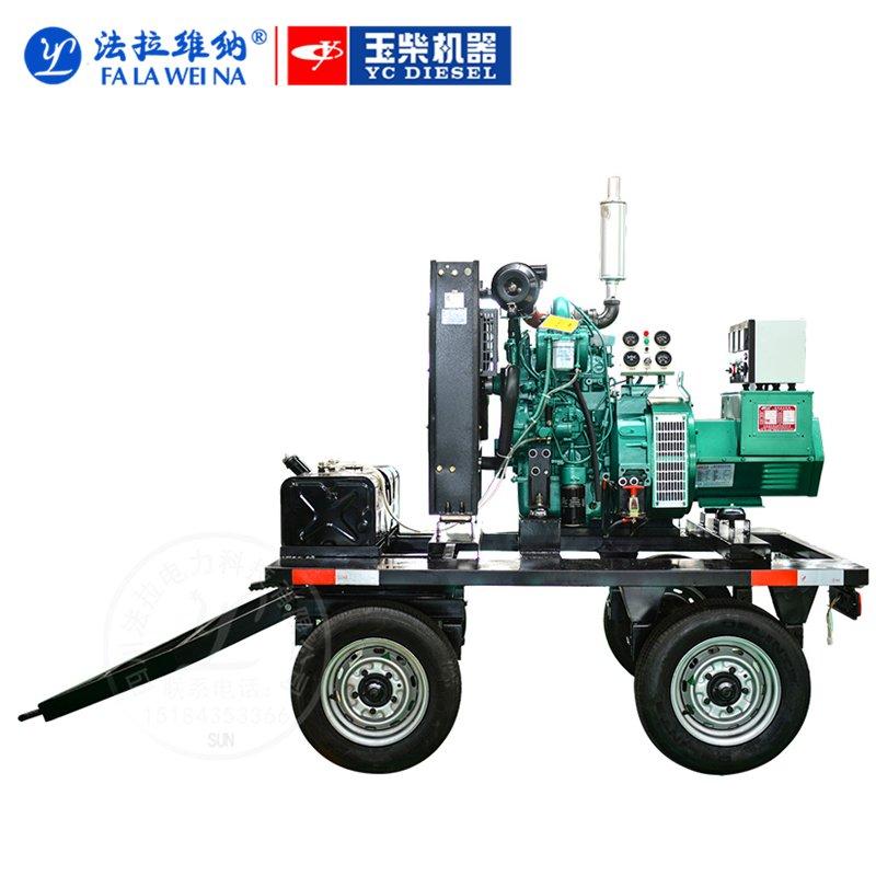 30kw/廣西玉柴YCD4M12D/柴油發電機組220V380V