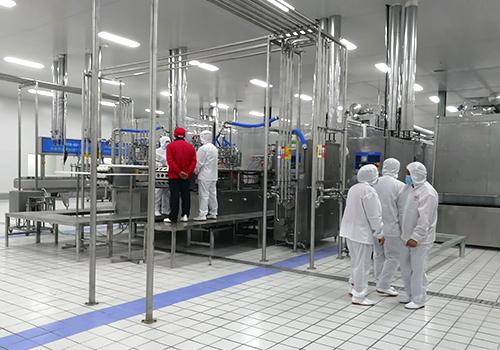 欧米尔食品厂房设计