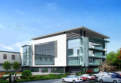 包材园区办公楼设计