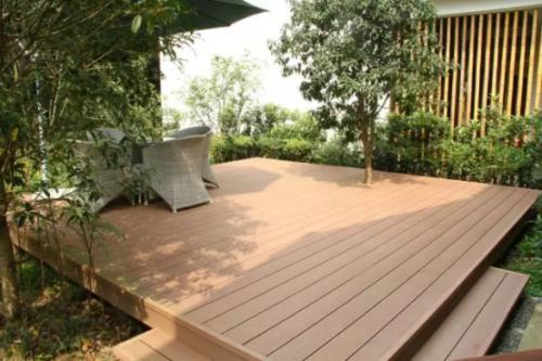 塑木地板按型材的横截面可分为...