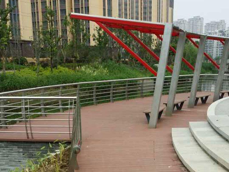 常州薛家公园--亲水平台