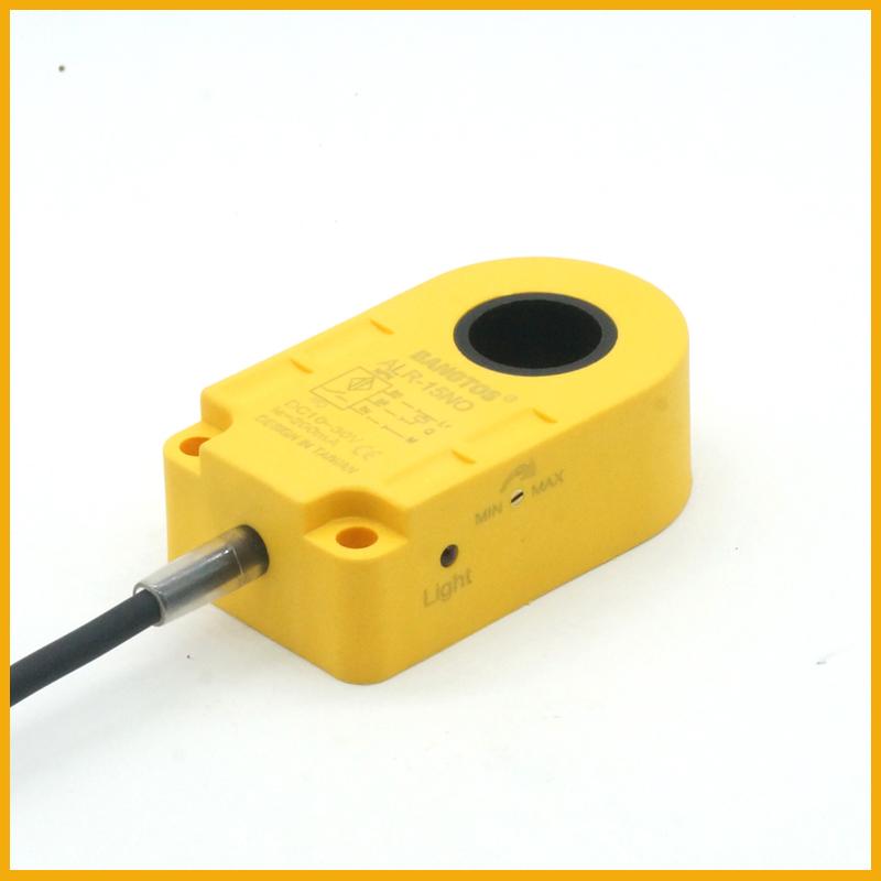 15毫米圆孔电感式环形接近开关传感器