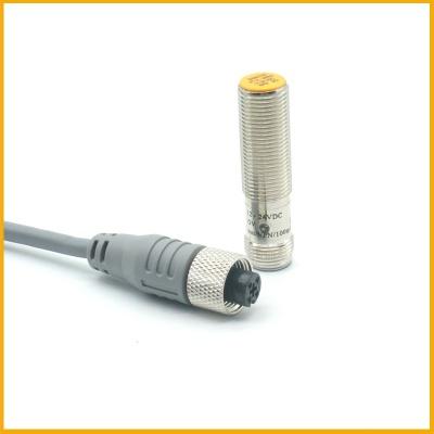 M12埋入式接插件接近开关传感器