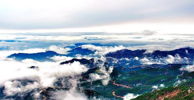 天柱山――安徽省三大名山