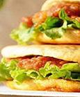 烧饼夹里脊――蚌埠着名传统小...