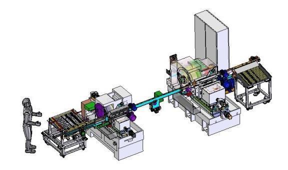平顯行業整線自動化改造