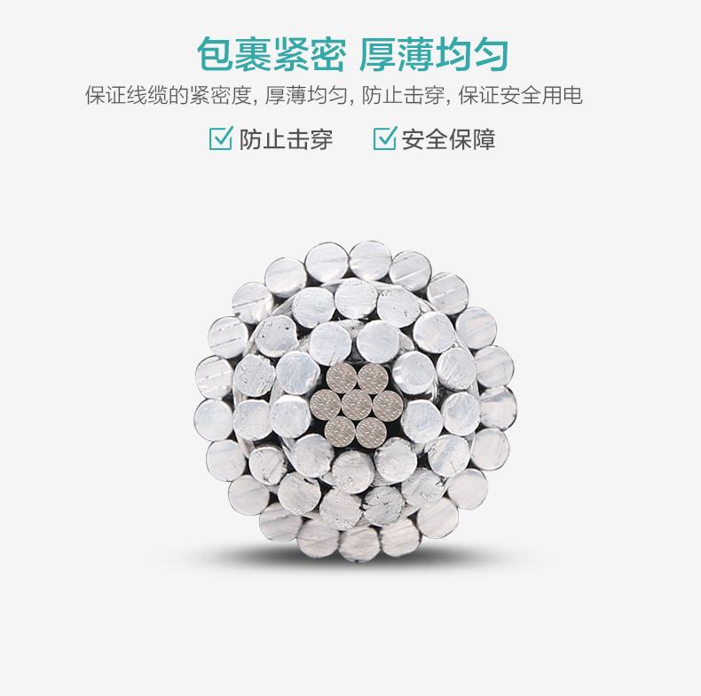 均匀-亿博体育娱乐钢芯铝绞线厂家架空电缆价格型号