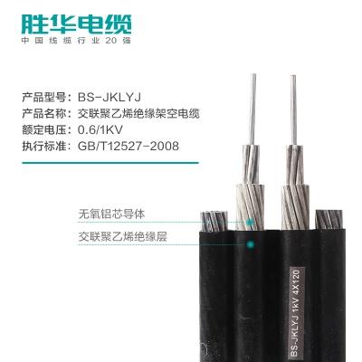 亿博体育娱乐电缆BS-JKLYJ铝芯联排平行架空电缆线