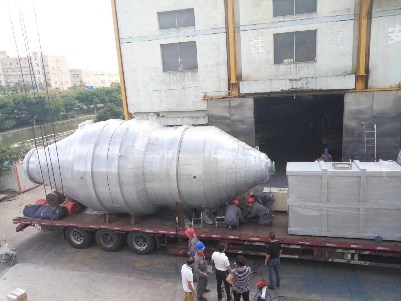 贝诺机械制造的年产量10万吨结晶设备正在发货