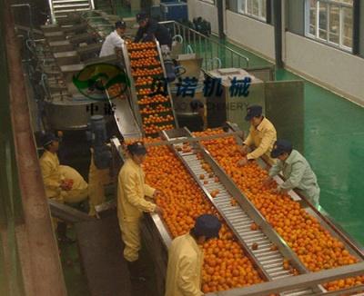 果汁加工生產線