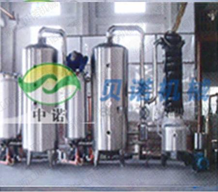 出口到南非的雙效外循環蒸發器