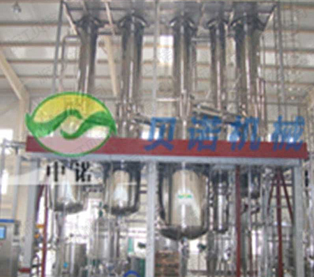 为汇源果汁提供的橙汁生产蒸发器