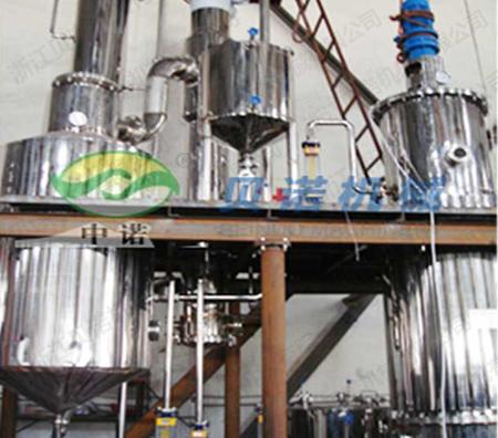 中化石油的强制循环蒸发器