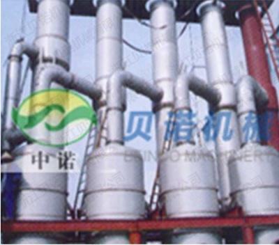 為山東西王集團提供的四效降膜蒸發器