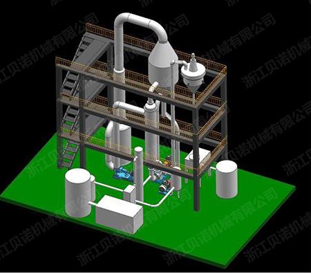 MVR机械蒸汽再压缩蒸发器