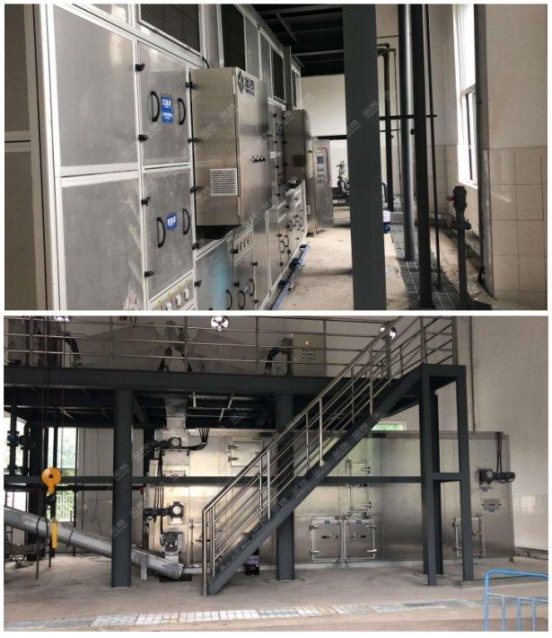 汙泥處理設備——四川簡陽汙水處理廠市政汙泥處理工程案例