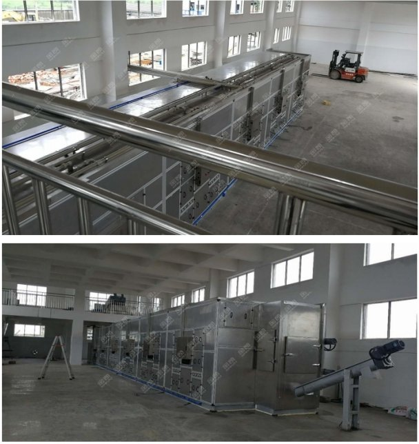 污泥处理设备——四川剑南春制酒污泥处理工程案例