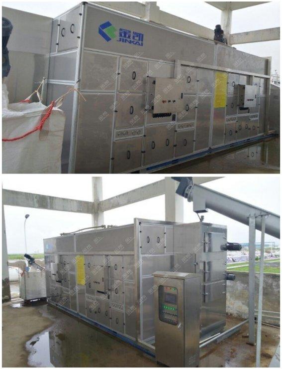 污泥处理设备——凯泉污水处理厂化工污泥处理工程案例