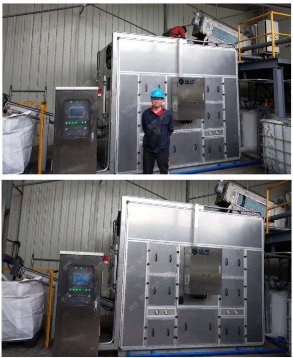 污泥处理设备——上海紫丹印染污泥处理工程案例