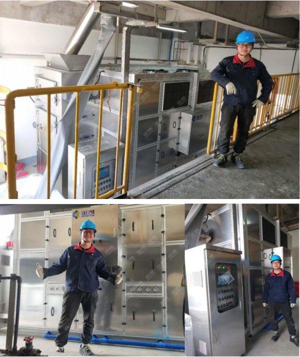 汙泥處理設備——上海花王化工汙泥處理工程案例