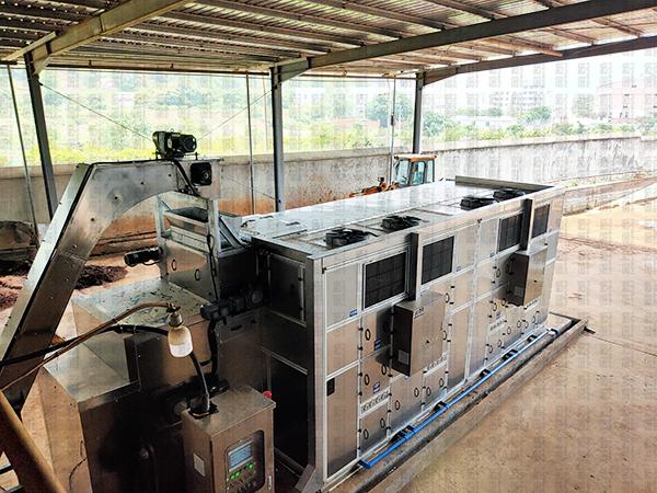 汙泥處理設備——福建德運汙泥處理工程案例
