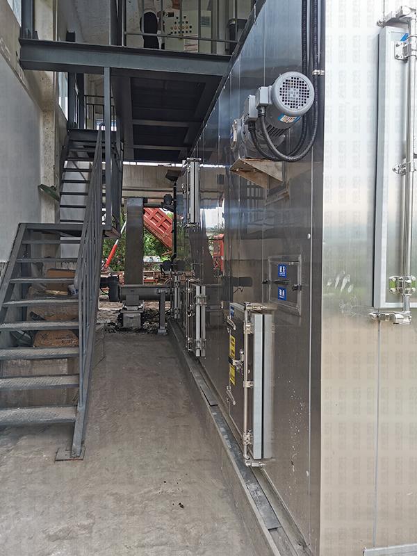 污泥處理設備-江西大余污水廠污泥處理工程案例