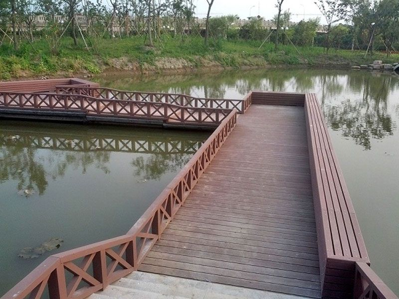嘉兴平湖政府公园--水上