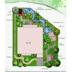 別墅綠化設計圖