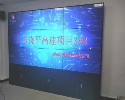 广东饶平高速49寸3X3高清液晶大中华彩票app屏