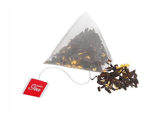 立体三角茶包备受人们青睐