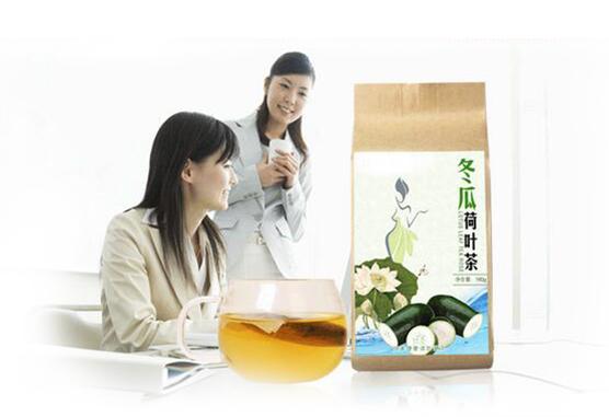 荷叶袋泡茶圆您身体健康、轻盈梦