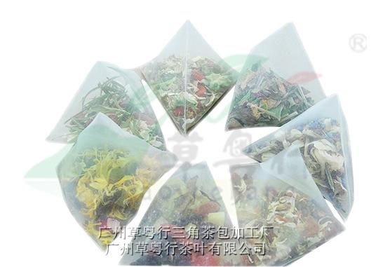 花草三角茶包加工类型及加工包材分析
