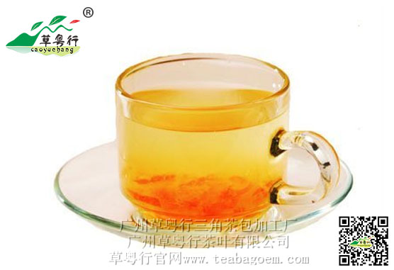 客家柚子茶和酸柑茶
