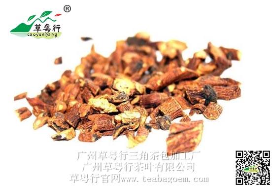 排毒护肝的蒲公英菊苣根三角杯囊茶