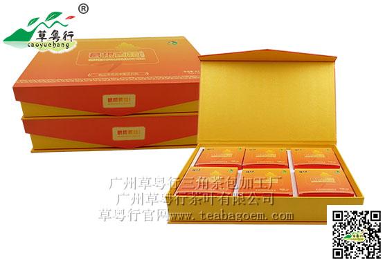 广州草粤行茶叶有限公司与道医詠春携手打造补肾代用茶
