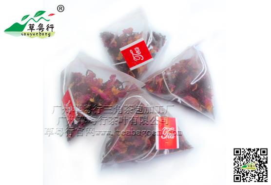 广州草粤行三角茶包加工厂专业提供三角茶包袋泡茶加工服务