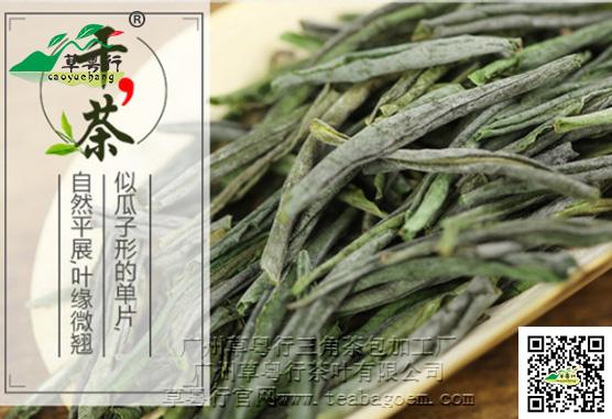 代表案例之六安瓜片三角茶包袋泡茶