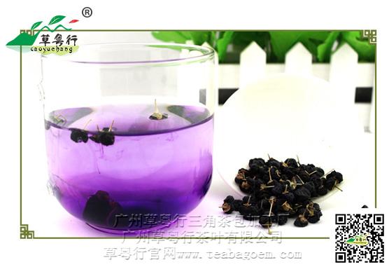 花青素之王——黑枸杞三角茶包代用茶