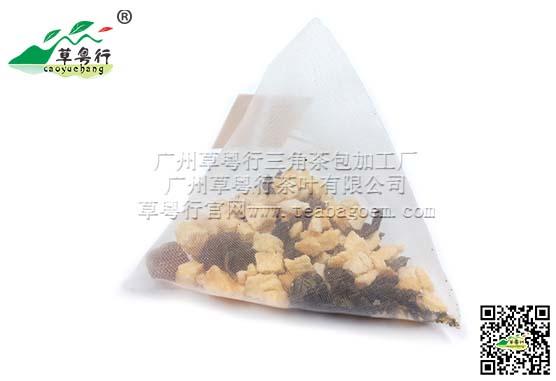 奶茶店专用立体三角茶包加工 白桃乌龙(混合调味茶)