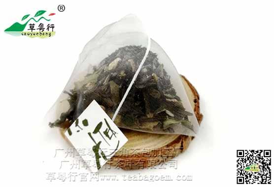 白茶三角茶包加工 白茶有哪些?
