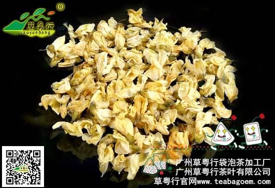 药食同源之槐花代用茶加工