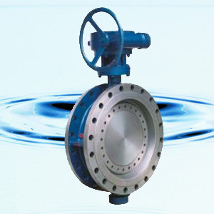 D343H Flanged Connection Metal-seat Butterfly Valve