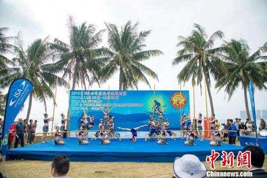 ISA世界桨板冲浪锦标赛海南开赛...