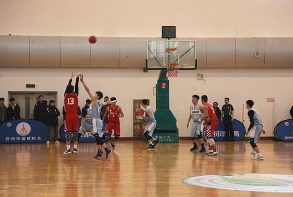 2018郑州市青少年校园篮球联赛...