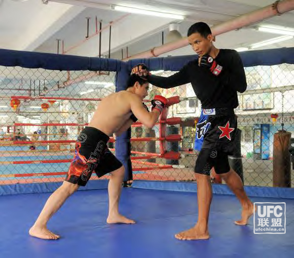 UFC初级基础技术课之抱腰摔反击...