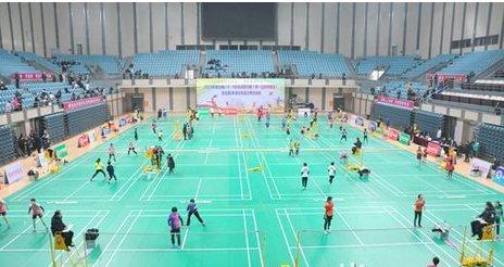 全国U系列羽毛球比赛选拔赛第一站...