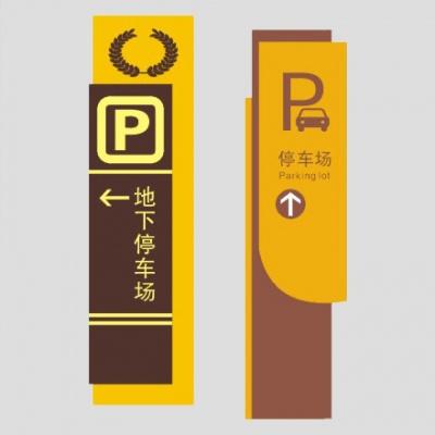 停车场立牌